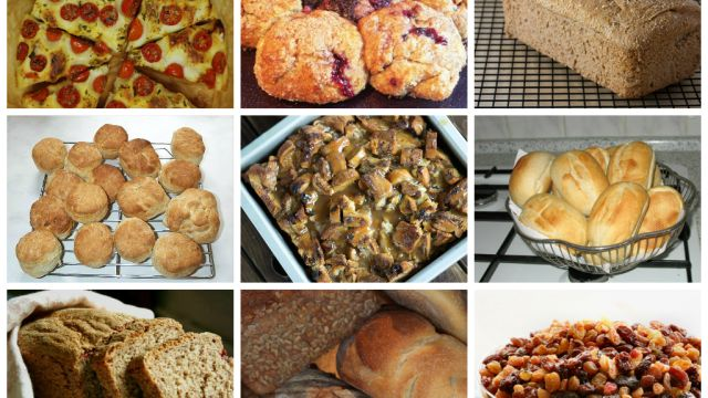 """The Top 10 Easiest Bread Recipes. first out on the list is this """"crunchy on the outside, chewy and almost moist on the inside"""" bread that works as loaf....."""