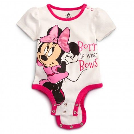 MINNIE MOUSE Disney Cuddly Bodysuit Lilly needs this!!!!