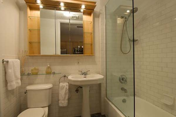Bathroom ideas for small spaces white tiles ideas for - Bathroom layouts small spaces ...