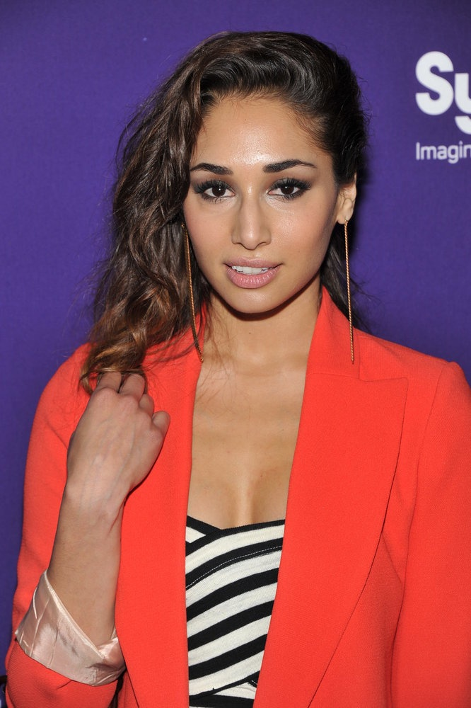 Meaghan Rath at the Syfy Upfront