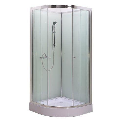 Douchecabine Quartz Douche Pearl is een solide douchecabine die met zijn fijne maat in iedere badkamer te gebruiken is. Deze complete douchecabine kenmerkt zich als een compacte, solide en makkelijk te onderhouden douchecabine voor een scherpe prijs. Om zoveel mogelijk ruimte te besparen in uw badkamer beschikt de cabine over 2 schuifdeuren. Al het glaswerk van de cabine bestaat uit een veiligheidsglas van 6 mm dik. Bovendien zijn de deuren ook eenvoudig te installeren en beschikken ze over…