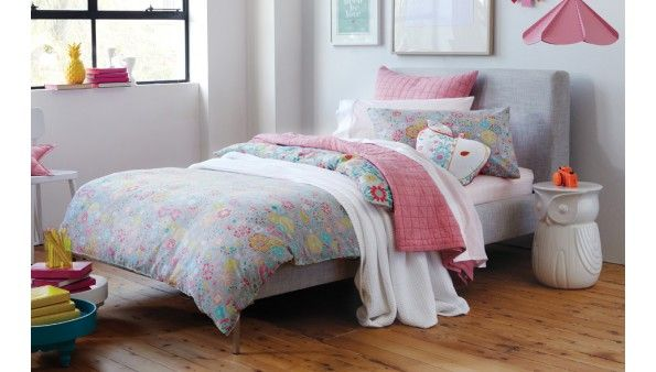 Sheridan beth quilt cover set junior shop online for Soft furnishings online