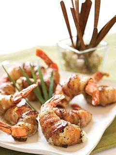 Food So Good Mall: Bacon Wrapped Shrimp with Parmesan Four Herb Stuffing