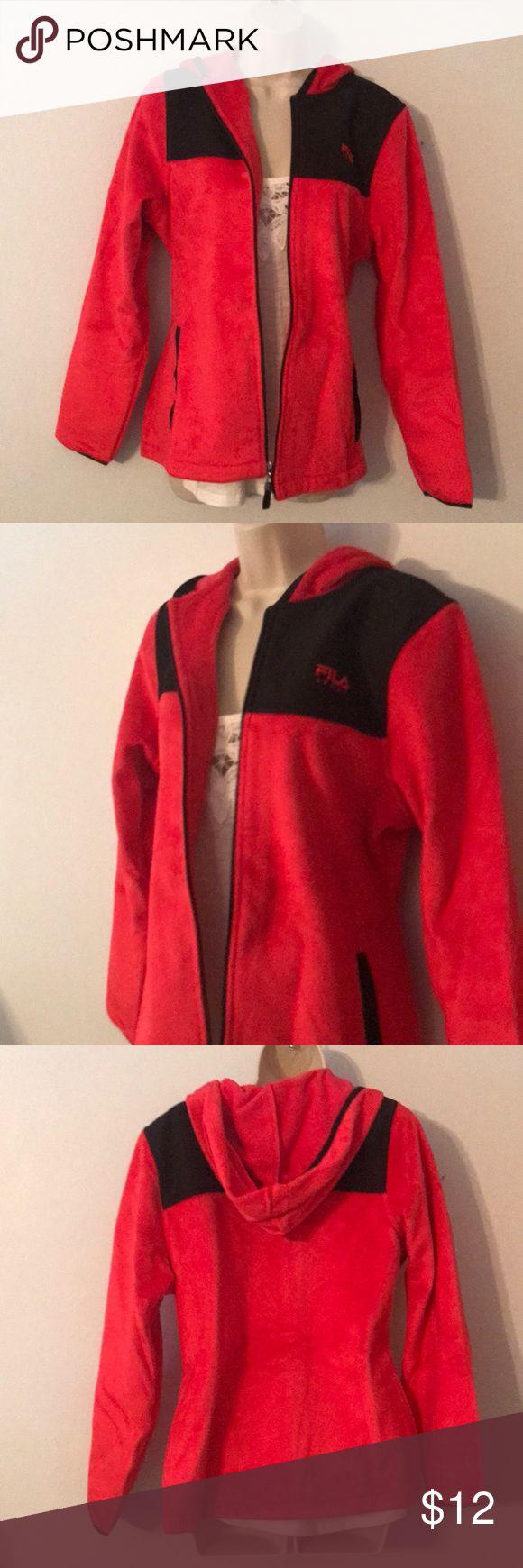 Fila Hooded Fleece Sweatshirt