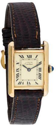 Shop Now - >  https://api.shopstyle.com/action/apiVisitRetailer?id=539631987&pid=uid6996-25233114-59 Cartier Tank Must de Cartier Watch  ...