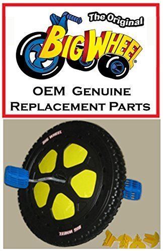 """BLACK FRONT WHEEL 16in Diameter Replacement Parts Kit for The Original Big Wheel WITH Pedal Washer       Famous Words of Inspiration...""""The degree of civilization in a society can be judged by entering its prisons.""""   Fyodor Dostoevsky —... more details available at https://perfect-gifts.bestselleroutlets.com/gifts-for-babies/kids-bikes-accessories/product-review-for-black-front-wheel-16-diameter-replacement-parts-kit-ass"""