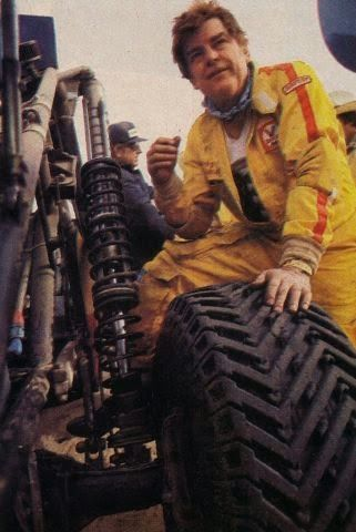 "Check out the Baja King, one of the first off-road tyres made by Mickey Thompson - big and tough, it was an all-nylon carcass with a 17"" rim diameter."