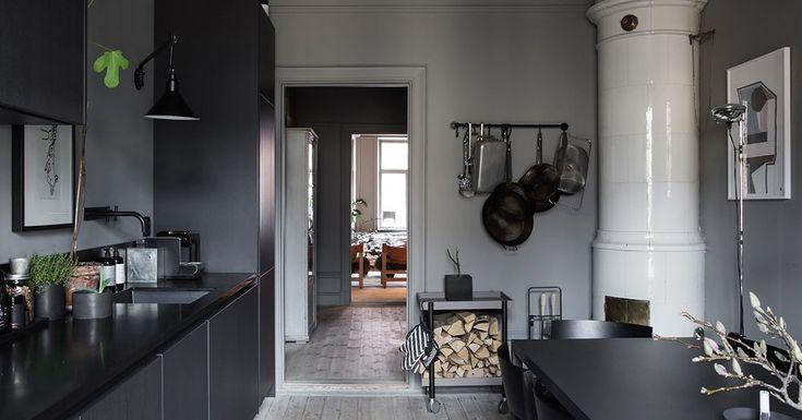 Lotta Agaton's home for sale - via Coco Lapine Design