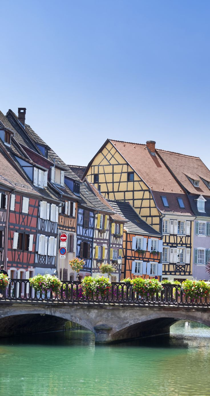 Colmar, the hidden gem of France.