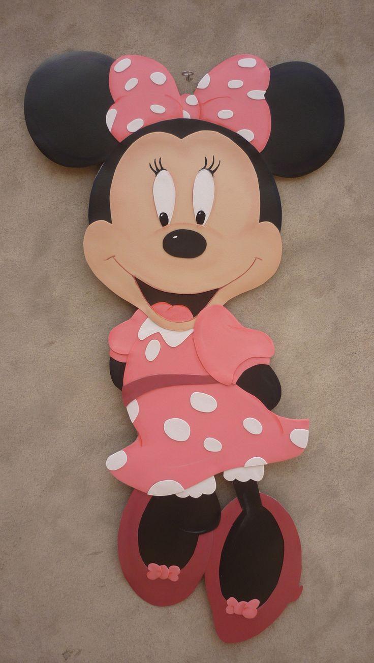 Minnie mouse hecho de microporoso medidas 120cm precio s - Manualidades minnie mouse ...