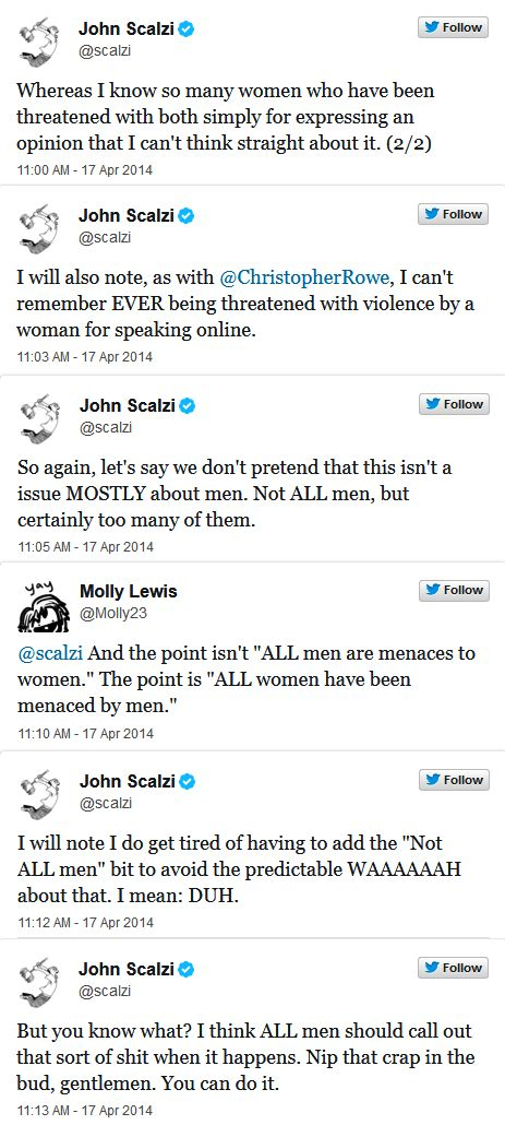 10 Tweets Of Greatness From A Guy On What Women Shouldn't Have To Deal With (pg. 2)