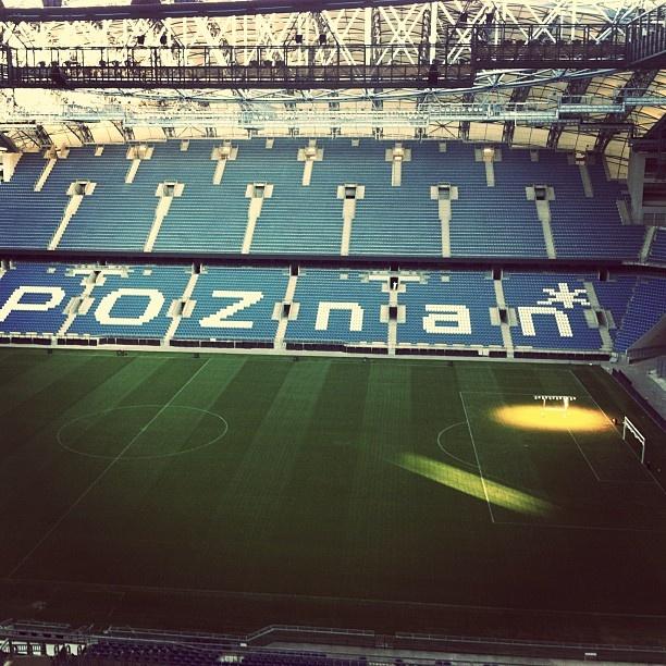 #Euro2012 #Poznan Football Stadium inside