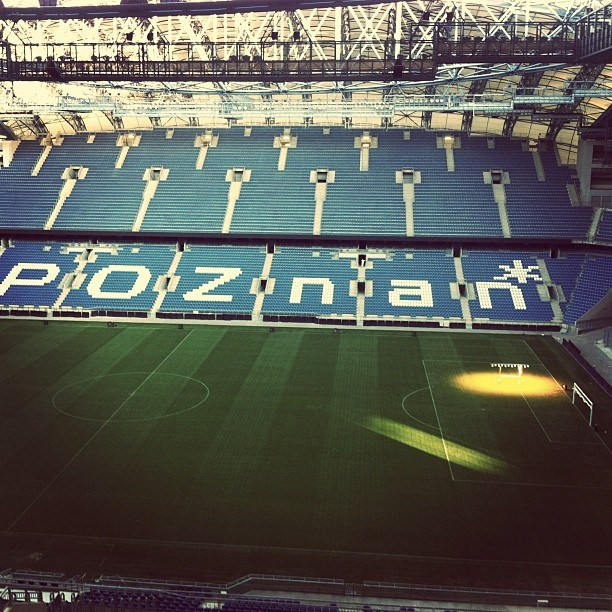 #Euro2012 #Poznan Football Stadium inside