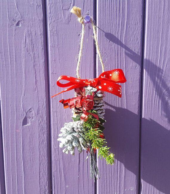 Pine Cone Decoration Yule Tree Decor Christmas Ornament