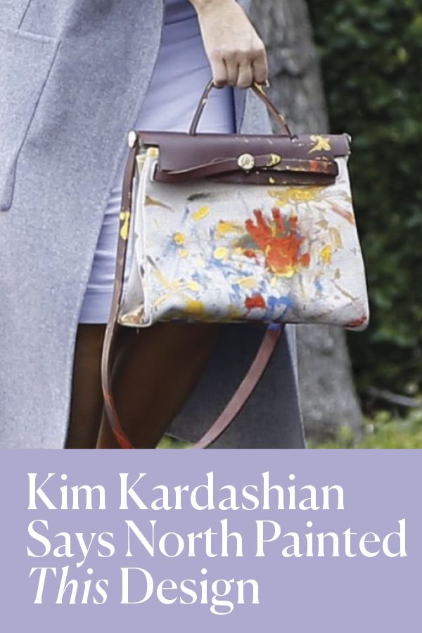 Kim Kardashian Gets Hermes Bag With Her Nude Painting From