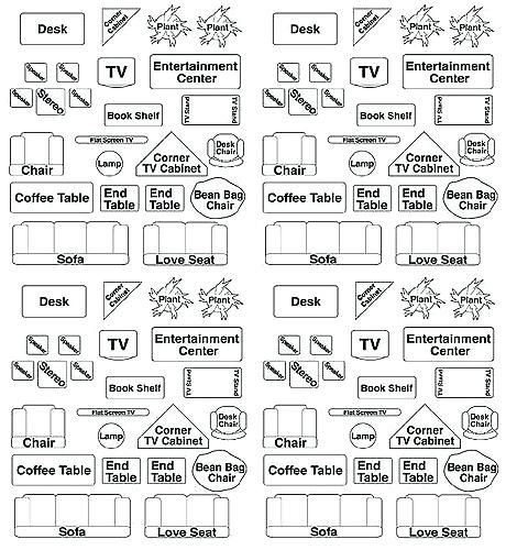Image Result For 1 4 Scale Furniture Cutouts Interior Design Template Apartment Furniture Layout Floor Plan Symbols
