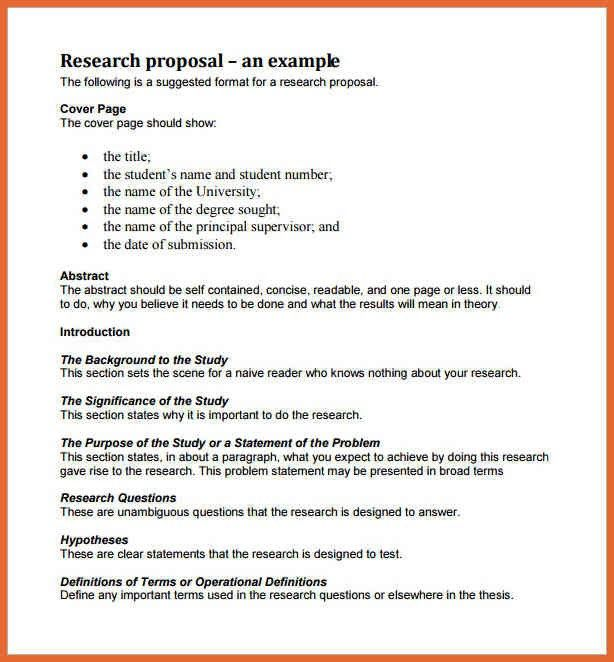 The 25+ best Research proposal format ideas on Pinterest - business reports format