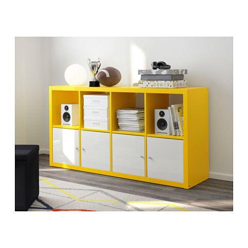 KALLAX Hylly - keltainen - IKEA