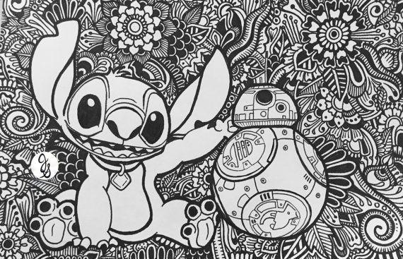 Coloriage Mandala Stitch Best Of Unerwartete Freunde Von