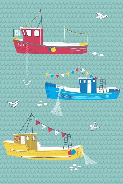 Jessica Hogarth #coastal illustration