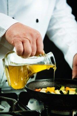 smaż z oliwą z oliwek