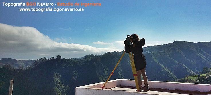 Levantamiento #topográfico en el municipio de Moya, Gran Canaria. Gestión de la #Propiedad y #Catastro . #topografo #topografia www.topografia.bgonavarro.es