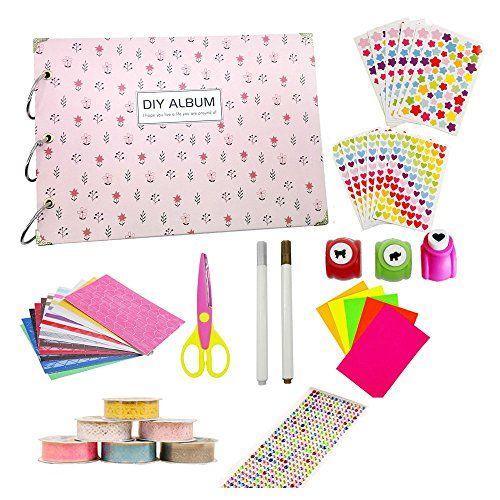 Super44day Album 6 en 1 Scrapbook Kit Album Scrapbook Acc…
