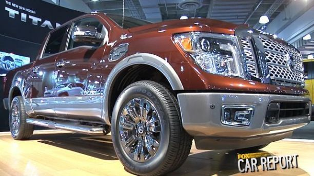 New Nissan Titan built to battle the pickup giants | Fox News