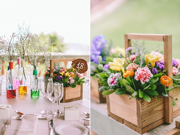 Colorful wedding - Find all details and vendors on http://www.love4weddings.gr/the-wedding-real-bride/