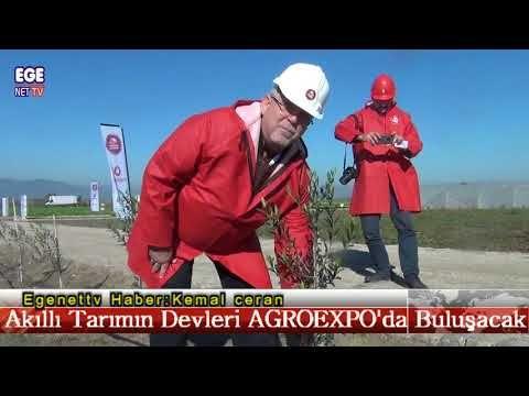 Akıllı Tarım'ın Devleri AGROEXPO'da Buluşacak