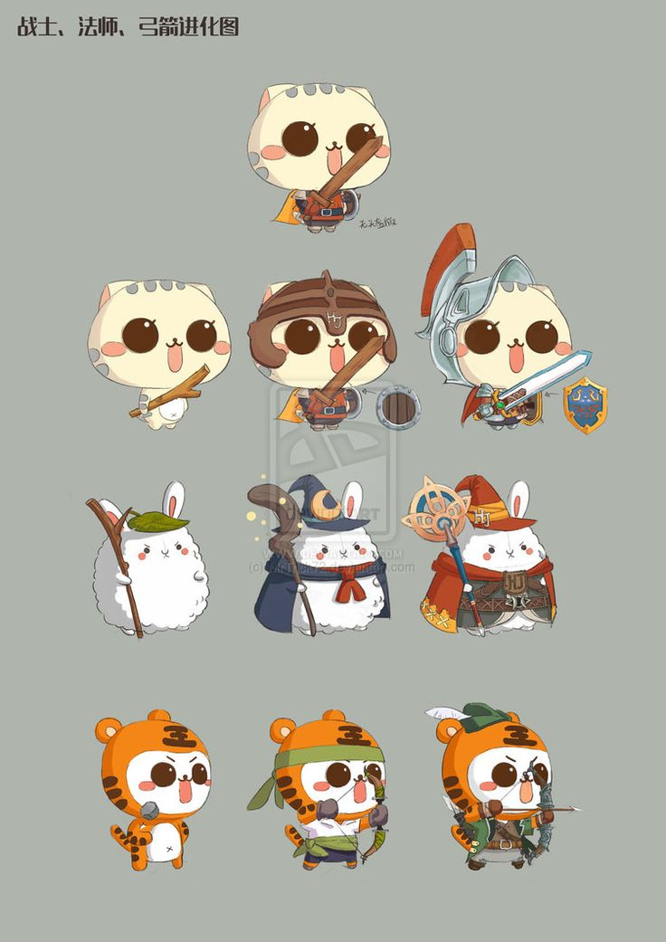 Characters Demo by MrTrick72 on deviantART