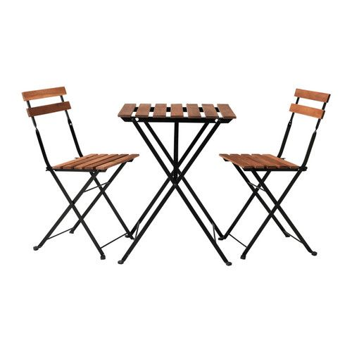 TÄRNÖ Bistro set IKEA You can easily protect your furniture against wear and tear by re-glazing it on a regular basis, about once a year.