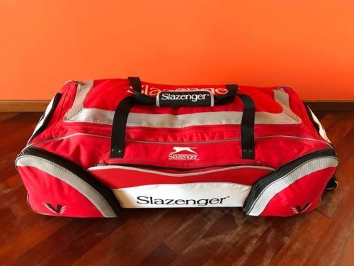 Slazenger Duffle Cricket Bag Luggage With Wheels