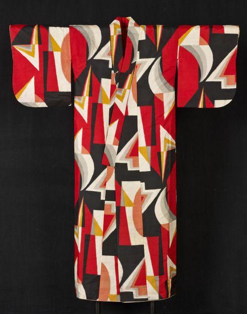 Kimono, Late Taisho (1912–26) /early Showa period (1926–89)