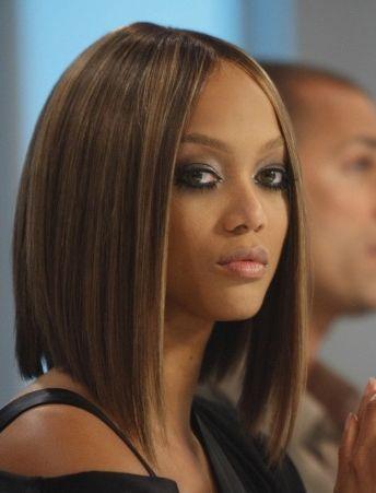 Groovy 1000 Ideas About Tyra Banks Short Hair On Pinterest Shorter Short Hairstyles Gunalazisus