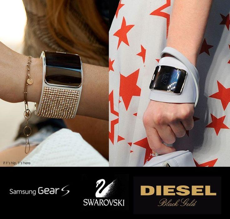Swarovski and Diesel bring style and luxury to Samsung Gear S smartwatch