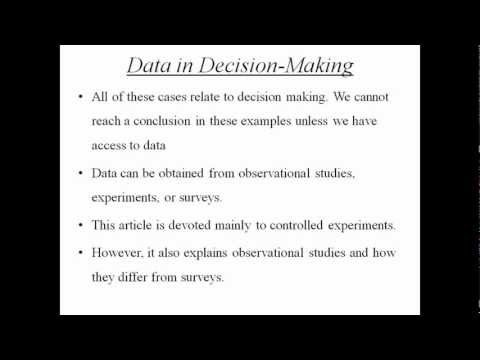 Visit http://classof1.com/homework-help/statistics-homework-help?utm_source=YouTube_medium=VideoSharing_campaign=VideoMarketing for customized Academic help in Statistics.Design of Experiments:Estimation is a procedure by which a numerical value or values are assigned to a population parameter based on the information collected from a sample. The assignment of value(s) to a population parameter based on a value of the corresponding sample statistic is called estimation.