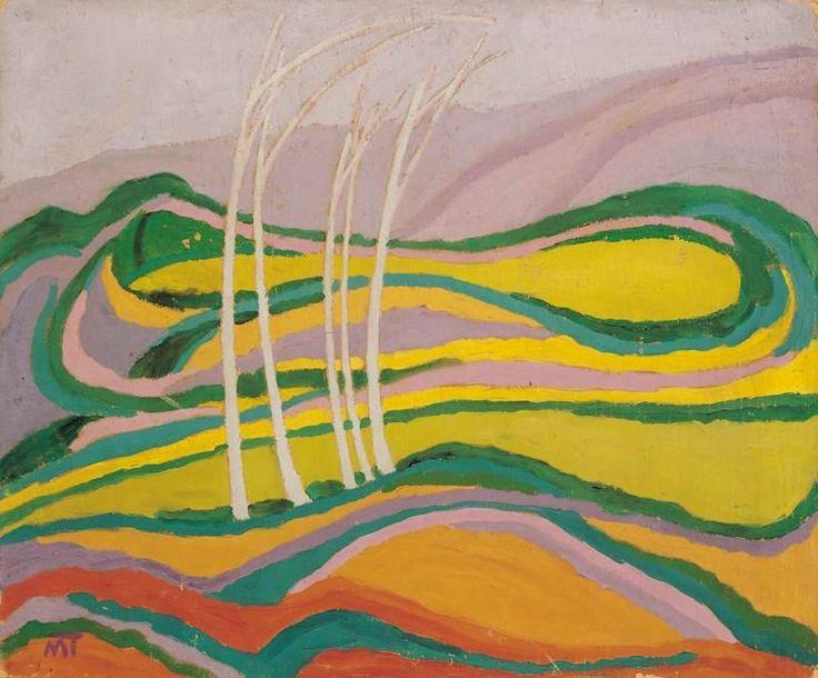Landscape - Janos Mattis-Teutsch