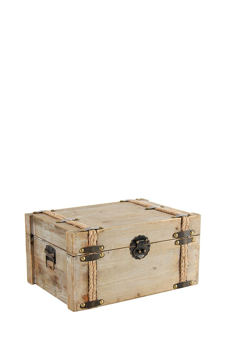 Large Chestnut Rope Storage Trunk| Mrphome Online Shopping