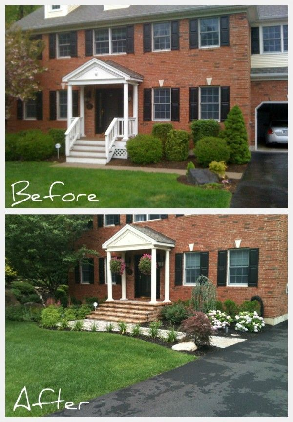Before And After Front Yard Makeovers
