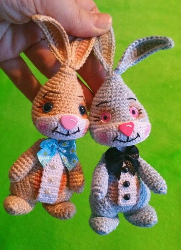 153 best Häschen Hase bunny crochet images on Pinterest | Häkeltiere ...