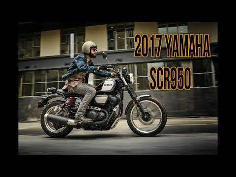 "2017 Yamaha ""Retro"" SCR950"