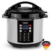 Buy this Mueller 9-in1 Pro Series 18 Smart Program Pressure Cooker with deep discounted price online today.