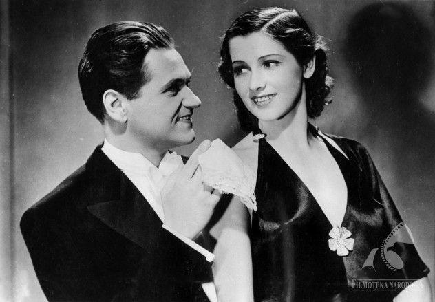 Piętro wyżej / polski film fabularny - komedia / 1937 / reż. Leon Trystan