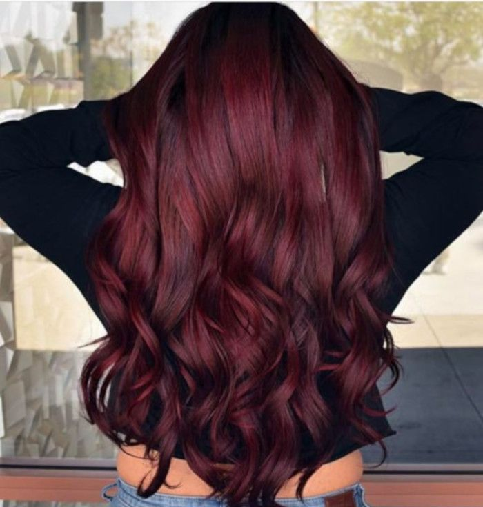 Biggest Hair Color Trends For 2020 In 2020 Shades Of Red Hair Wine Hair Wine Hair Color