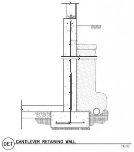Concrete Retaining Wall Rebar Design