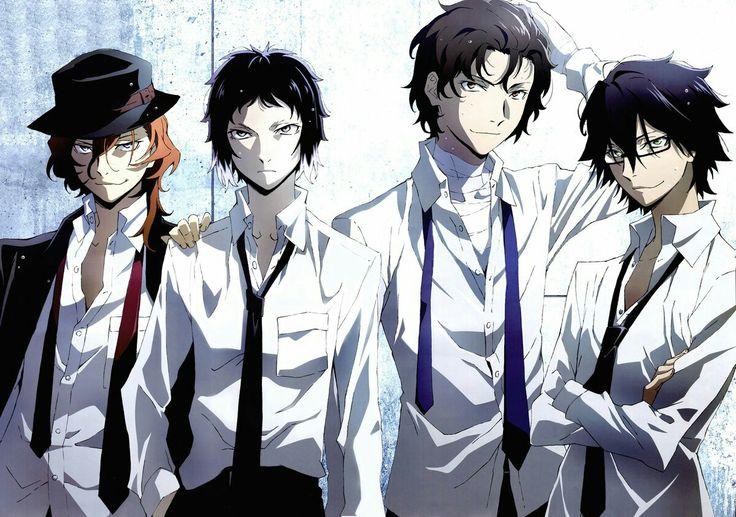 Chiya, Ryunosuke, Dazai & Ranpo