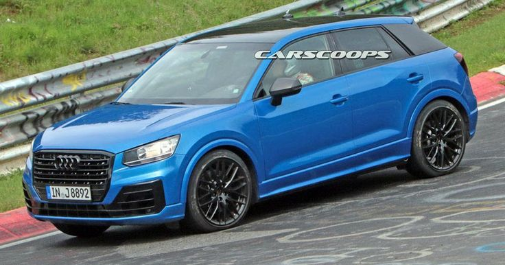 Hot Audi SQ2 Caught Naked At The Nurburgring #Audi #Audi_Q2