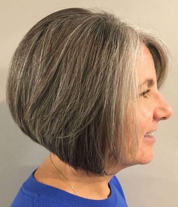 67 Inspiring Hairstyles For Women Over 50 2021 Frisuren Haarschnitte Graue Frisuren Haarschnitt