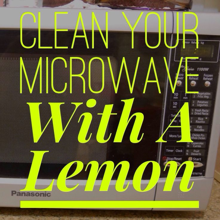 Cleaning A Microwave Oven With Lemon: Clean Your Microwave With A Lemon